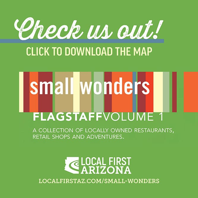 Flagstaff Small Wonders Map